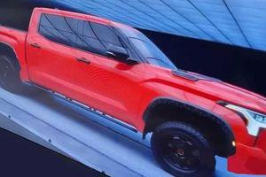 Toyota Tundra 2022 lộ diện, thiết kế lột xác đấu Ford F-150
