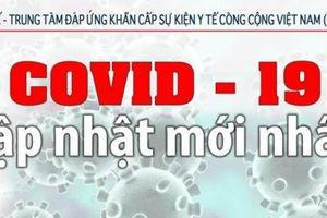 Trưa 19/6: Thêm 112 ca mắc COVID-19 mới