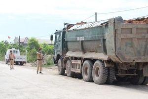 Xử lý nghiêm xe tải, xe ben vi phạm Luật Giao thông đường bộ