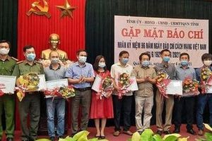 Công an Quảng Ngãi đạt thành tích cao tại Giải báo chí tỉnh