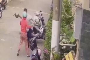 Phạt hành chính người anh trai dùng mũ bảo hiểm tấn công em gái