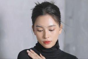 Tiểu Vy khiến người hâm mộ xao xuyến với vẻ đẹp mong manh khi hóa 'nàng thơ'