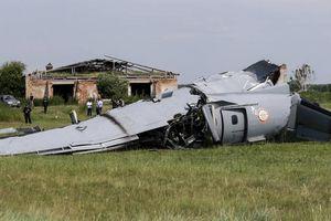 Rơi máy bay ở Nga, ít nhất 20 người thương vong