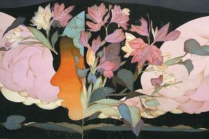 Họa sĩ Vũ Đình Tuấn: Tôi bị hút chặt vào nền lụa mỗi khi vẽ