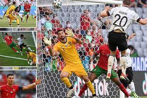 Xe tăng Đức nghiền nát Bồ Đào Nha trong ngày Ronaldo phá dớp