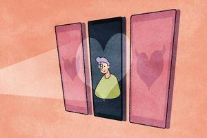 'Lần đầu hẹn hò online, tôi gặp luôn người yêu hiện tại'