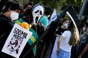 Brazil vượt mốc nửa triệu người chết vì Covid-19