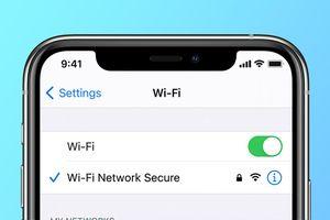 Ký tự đặc biệt làm hỏng kết nối Wi-Fi trên iPhone