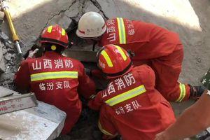Sập nhà ở Trung Quốc, 5 người thiệt mạng