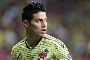 Hào quang của James Rodriguez ở tuyển Colombia vụt tắt