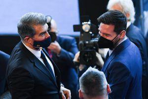 Chủ tịch Barca phát thông điệp tới Messi