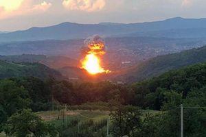 Nổ nhà máy sản xuất vũ khí ở Serbia