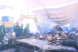 Phú Thọ: Bà hỏa thiêu rụi xưởng chế biến gỗ