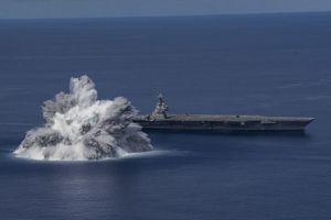 Một vụ nổ thử nghiệm 'quá tay' có thể đã làm hỏng tàu sân bay Mỹ