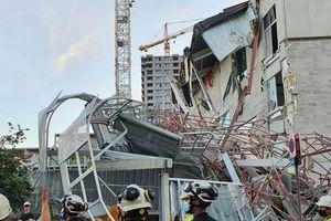 Bỉ: Sập trường tiểu học đang xây, nhiều công nhân bỏ mạng