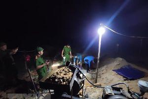 Quảng Nam truy quét, đẩy đuổi các đối tượng khai thác vàng trái phép