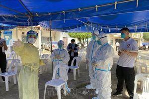 Lào lấy mẫu xét nghiệm COVID-19 tại các khu vực có nguy cơ cao