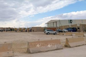 Căn cứ quân sự Iraq có binh sĩ Mỹ đồn trú tiếp tục bị tấn công
