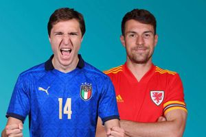 Lịch phát sóng EURO 2020 đêm 20/6: Italia so tài với xứ Wales