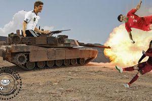 'Cỗ xe tăng Đức' đã rùng mình