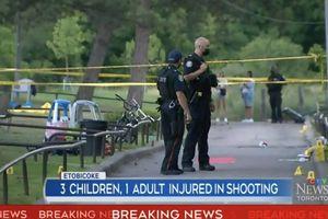 Nổ súng trong tiệc sinh nhật trẻ em, 5 người bị thương