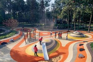 Công viên Sân bay Hongdu – kiến trúc hồi sinh từ ký ức