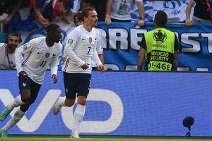 EURO 2020: Tuyển Pháp bị Hungary cầm hòa 1-1