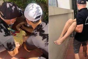 Hà Nội: Bé trai thoát chết khi rơi từ tầng 5 chung cư xuống đất