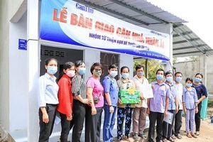 Báo Cần Thơ bàn giao Căn nhà nhân ái cho hộ nghèo ở xã Trường Long