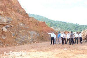 Dự án Cấp bách xử lý tạm thời sạt lở đất đồi tại khu vực ấp Phú Lâm 3, xã Phú Sơn (H.Tân Phú): Đẩy nhanh tiến độ, mở rộng phạm vi