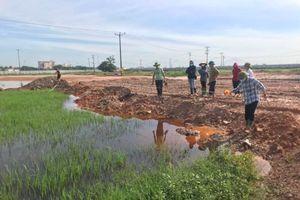 Vĩnh Phúc: Huyện Vĩnh Tường sẽ tổ chức cưỡng chế thu hồi đất 14 hộ dân tại thị trấn Tứ Trưng
