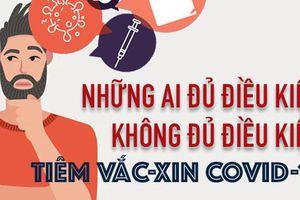 Điều kiện để tiêm vắc-xin Covid-19 an toàn