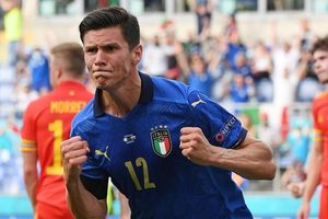 Marco Verratti kiến tạo, Pessina ghi bàn giúp Italy dẫn trước Xứ Wales