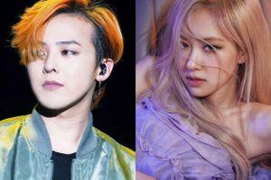 G-Dragon ngưỡng mộ Rosé (BlackPink)