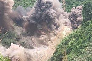 Đánh sập 75 hầm vàng trái phép trong Vườn quốc gia Sông Thanh