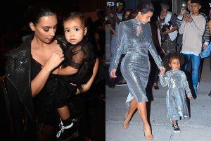 Con gái Kim Kardashian và Kanye West toàn mặc đồ hiệu