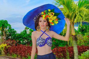 Thí sinh thi Hoa hậu Trái Đất Philippines bị chê diêm dúa