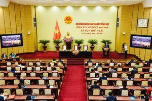 Hà Nội bầu các chức danh chủ chốt của Hội đồng nhân dân và Ủy ban nhân dân thành phố