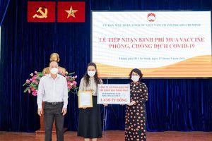 Tập đoàn Vạn Thịnh Phát ủng hộ 2.000 nghìn tỷ đồng phòng chống dịch