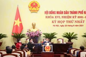 Đồng chí Chu Ngọc Anh tiếp tục được bầu giữ chức Chủ tịch UBND Thành phố Hà Nội