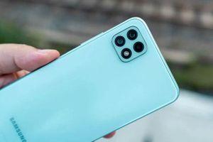 Cận cảnh smartphone 5G rẻ nhất của Samsung