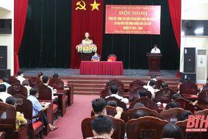 Huyện Thiệu Hóa Tổng kết công tác bầu cử đại biểu Quốc hội khóa XV