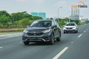 Honda CR-V 2020 giảm giá tại đại lý lên tới hơn trăm triệu đồng