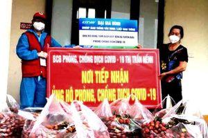 Bạn trẻ Bình Phước tự chế biến mắm ruốc xào thịt cùng chà bông, gửi đến Bắc Giang để cùng chống dịch