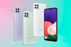 Samsung ra mắt Galaxy A22 với 4 camera, có 5G, giá 5,9 triệu