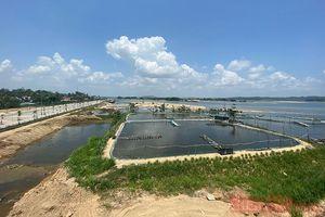 Ồ ạt xây dựng hồ tôm gần công trình trọng điểm