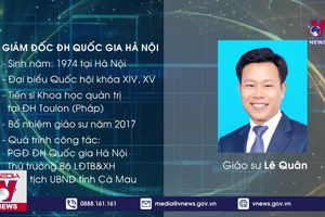 Bổ nhiệm Giám đốc ĐH Quốc gia Hà Nội