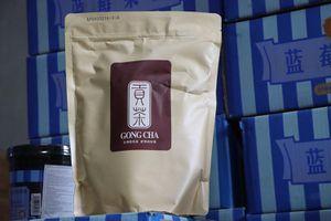 Phát hiện hàng tấn nguyên liệu trà sữa Gong Cha, Royaltea nhập lậu