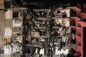 Hiện trường vụ sập chung cư 12 tầng ở Mỹ làm một người chết