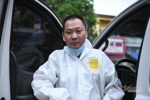 Người đàn ông 2 lần trốn vợ con, tình nguyện lái xe cứu thương ở tâm dịch